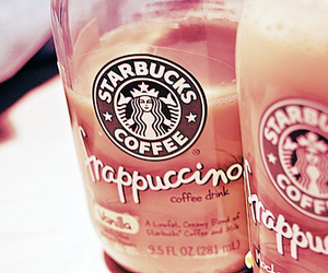 starbucks, coffee, and frappuccino image
