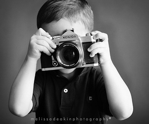 b&w, camera, and black and white image