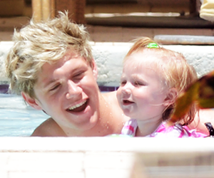 niall horan, one direction, and baby lux image
