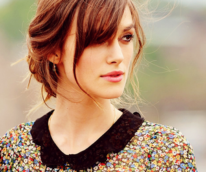 brunette, keira knightley, and hair image