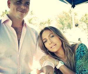 Jennifer Lopez and pitbull image