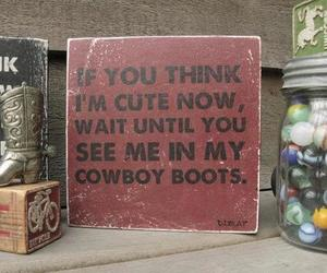 boots, country, and love image