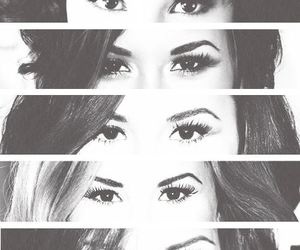 demi lovato, eyes, and demi image