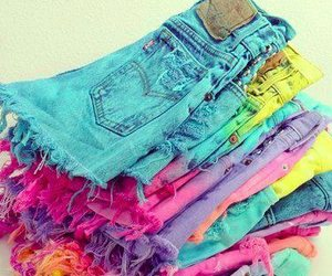 shorts, pink, and clothes image