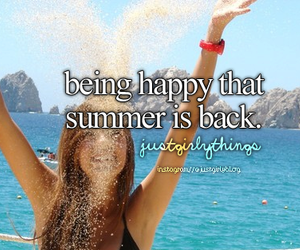 summer, happy, and quote image