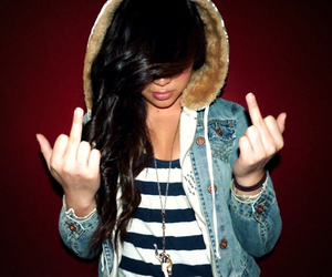 black hair, fashion, and finger image