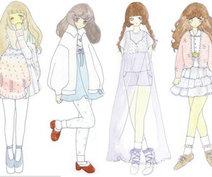 dolly, fashion, and girl image