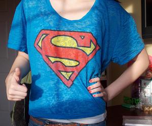 superman, fashion, and cool image