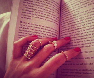 book, rings, and nails image