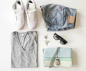 beach, fashion. style, and summer image
