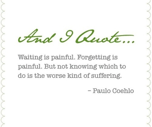 quote, forget, and paulo coelho image
