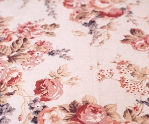 floral, pattern, and flowers image