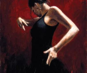 art, dance, and passion image