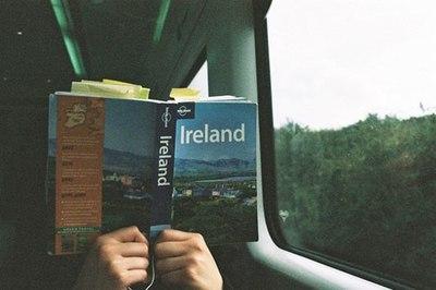 ireland, book, and travel image