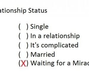 married, miracle, and Relationship image