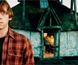 harry potter, ron weasley, and deathly hallows image