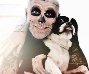 dog, tattoo, and zombie boy image