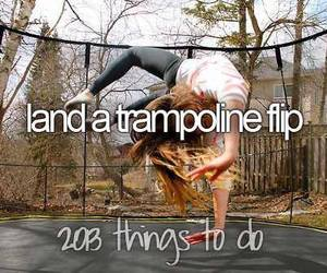 trampoline and cool image