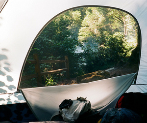 vintage, photography, and camping image