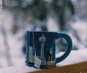 tea, winter, and cup image