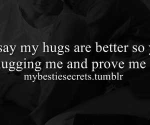 best friends, better, and hugging image