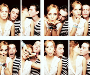emma watson, couple, and george craig image