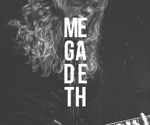 megadeth, dave mustaine, and metal image