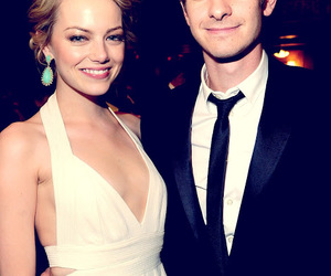 andrew garfield, emma stone, and spider man image
