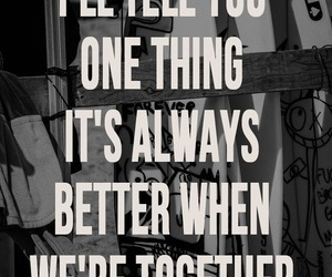 jack johnson, Lyrics, and better together image