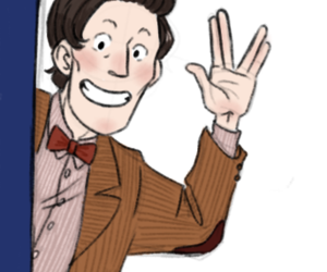 doctor who and fanart image