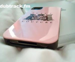 dubtrackfm, pink, and iphone image