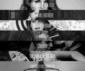 lana del rey, music, and born to die image