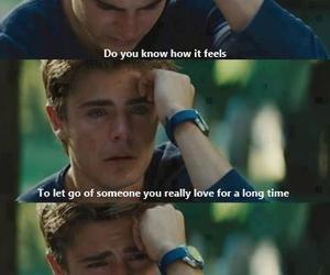 zac efron, sad, and quotes image