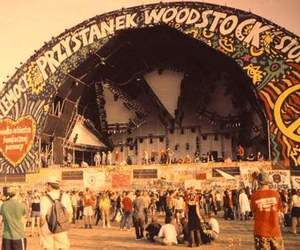 woodstock, hippie, and peace image