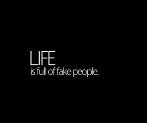 life, fake, and people image