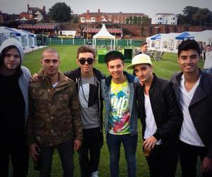 the wanted, siva kaneswaran, and tom parker image