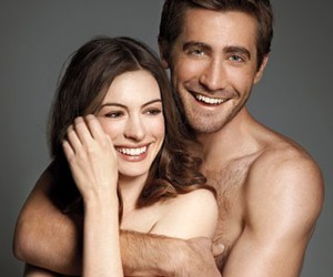 Anne Hathaway, happy, and love image