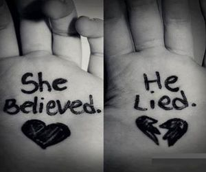 believe, lies, and her image