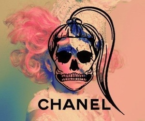chanel, pink, and Lady gaga image