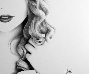 drawing and Taylor Swift image