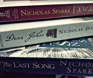 book, nicholas sparks, and dear john image