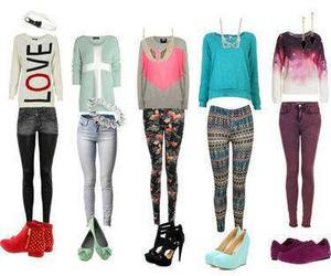 clothes, fashion, and jewerly image
