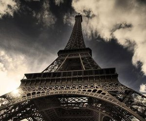 paris, eiffel tower, and eiffel image
