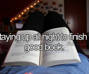 book, night, and reading image
