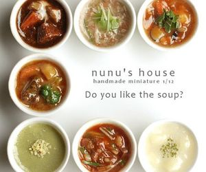 delicious, miniature, and soup image