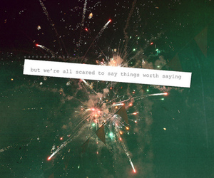 fireworks, quote, and text image