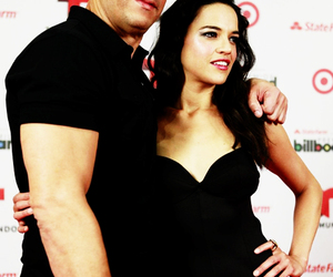 fast & furious, michelle rodriguez, and Vin Diesel image