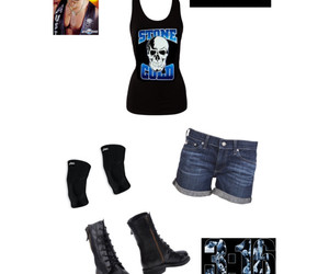 inspired, outfit, and wwe image