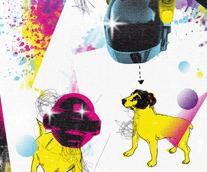color, cool, and daft punk image