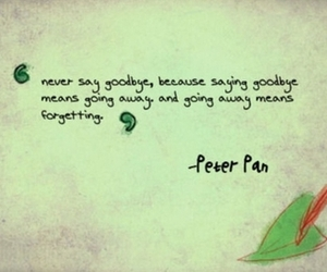 peter pan, disney, and quote image